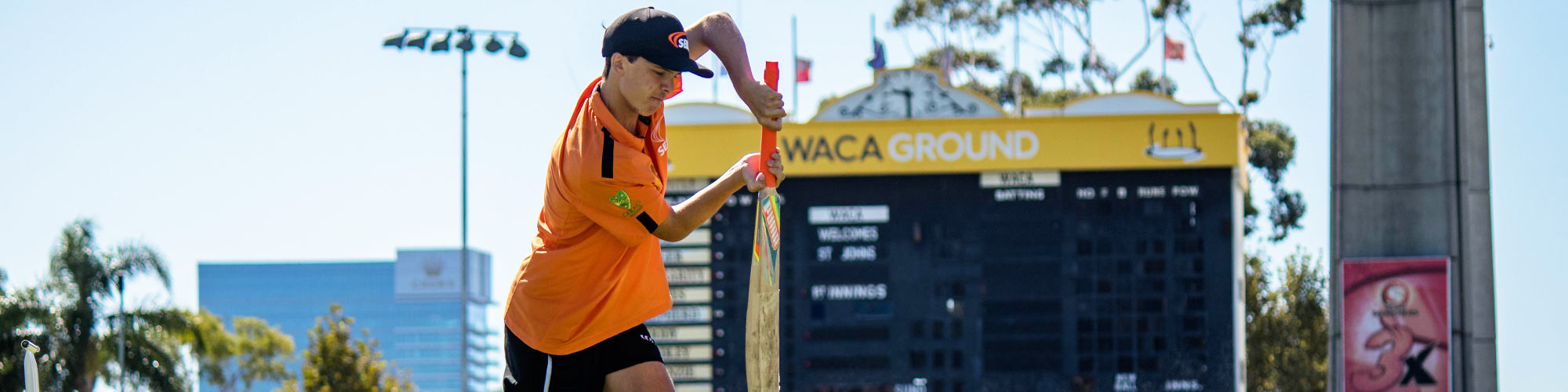 Cricket Australia students Perth Scorchers at WACA